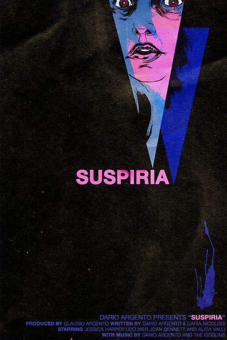 SUSPIRIA Movie PHOTO Print POSTER Textless Film Art Dario Argento Italian 002