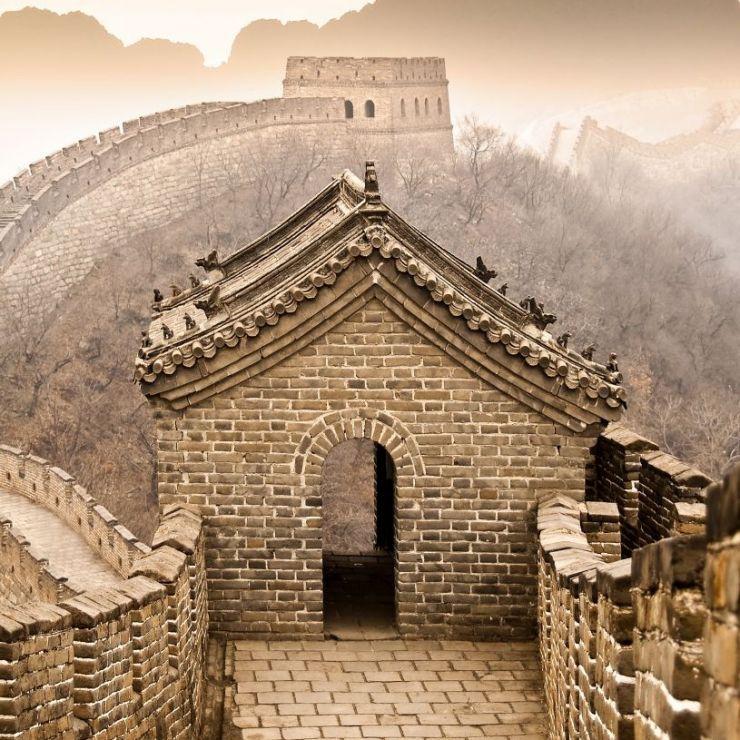 """Tableau """"Grande Muraille de Chine"""" par Delphimages"""