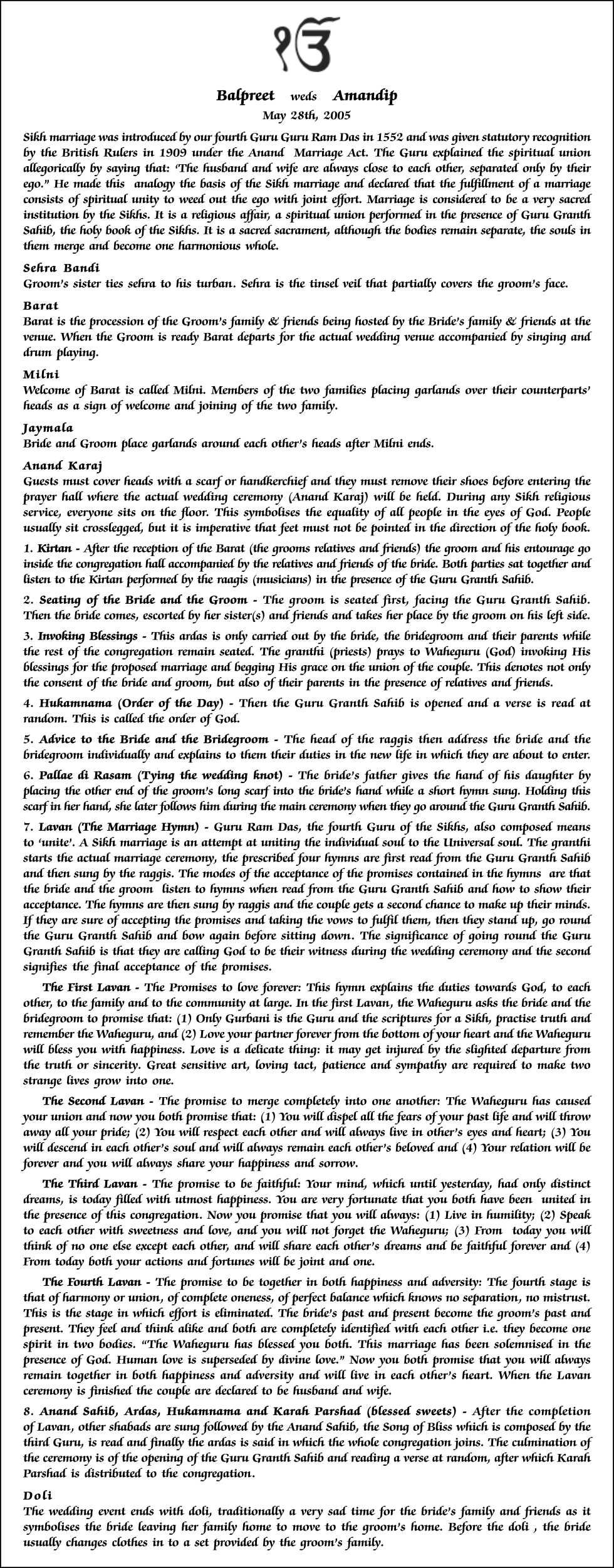 visual essay structure Essay on Wedding Ceremony