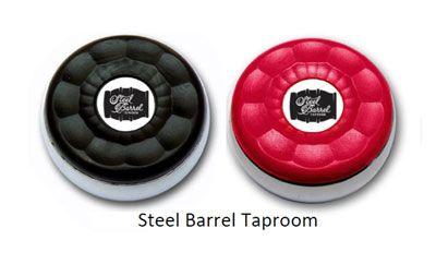 Custom Table Shuffleboard Puck Weights made for Steel Barrel Taproom