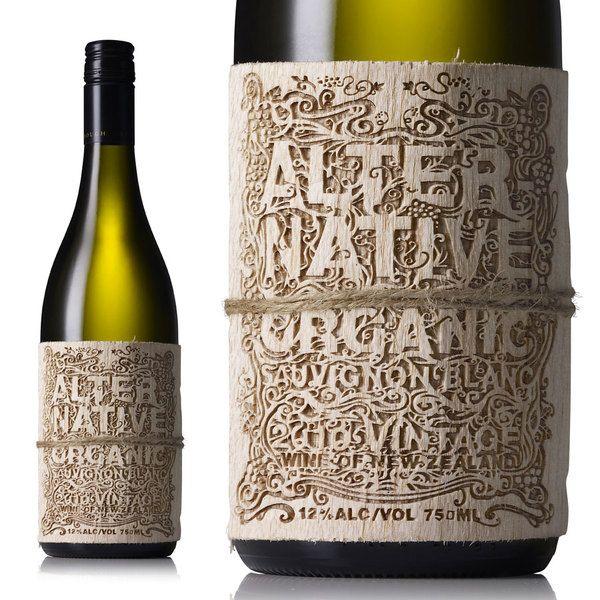 Absolutely Beautiful Ornate Laser Cut Wine Bottle Label