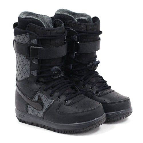 a4904336301 Nike Snowboarding 2013 Women's Zoom Force 1 (Black/Black/Anthracite ...