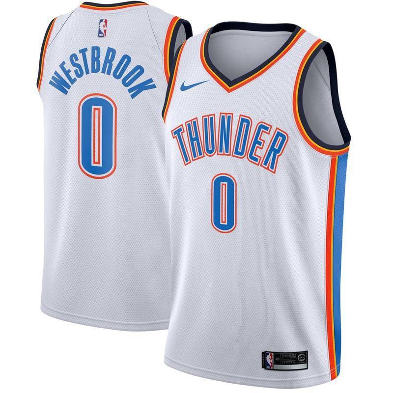 e5e106937  Valentines  AdoreWe  Fanatics.com -  Nike Russell Westbrook Oklahoma City  Thunder Nike Swingman Jersey White - Association Edition - AdoreWe.com