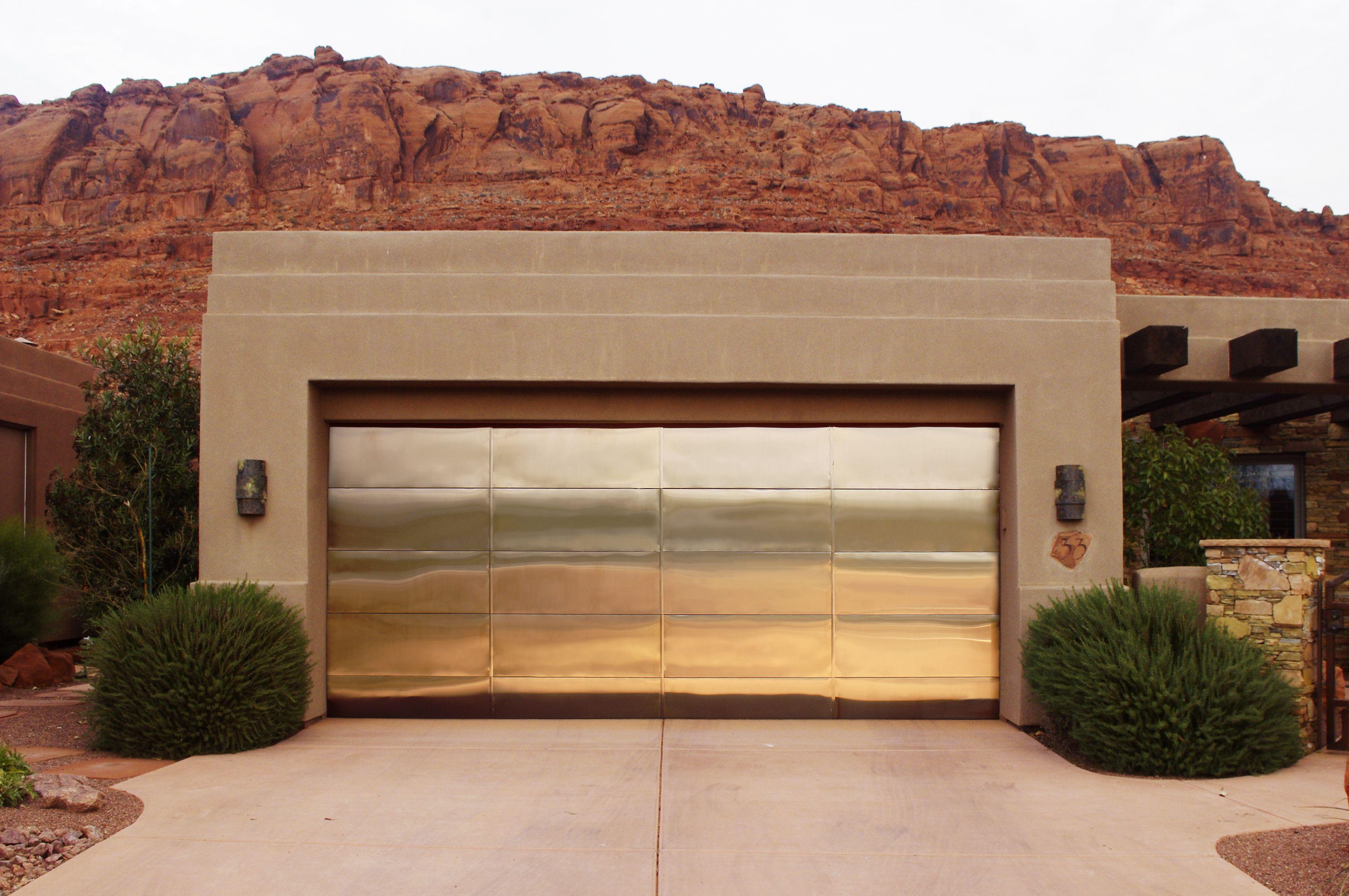 Tini Copper Garage Door Garage Doors Garage Door Styles Doors