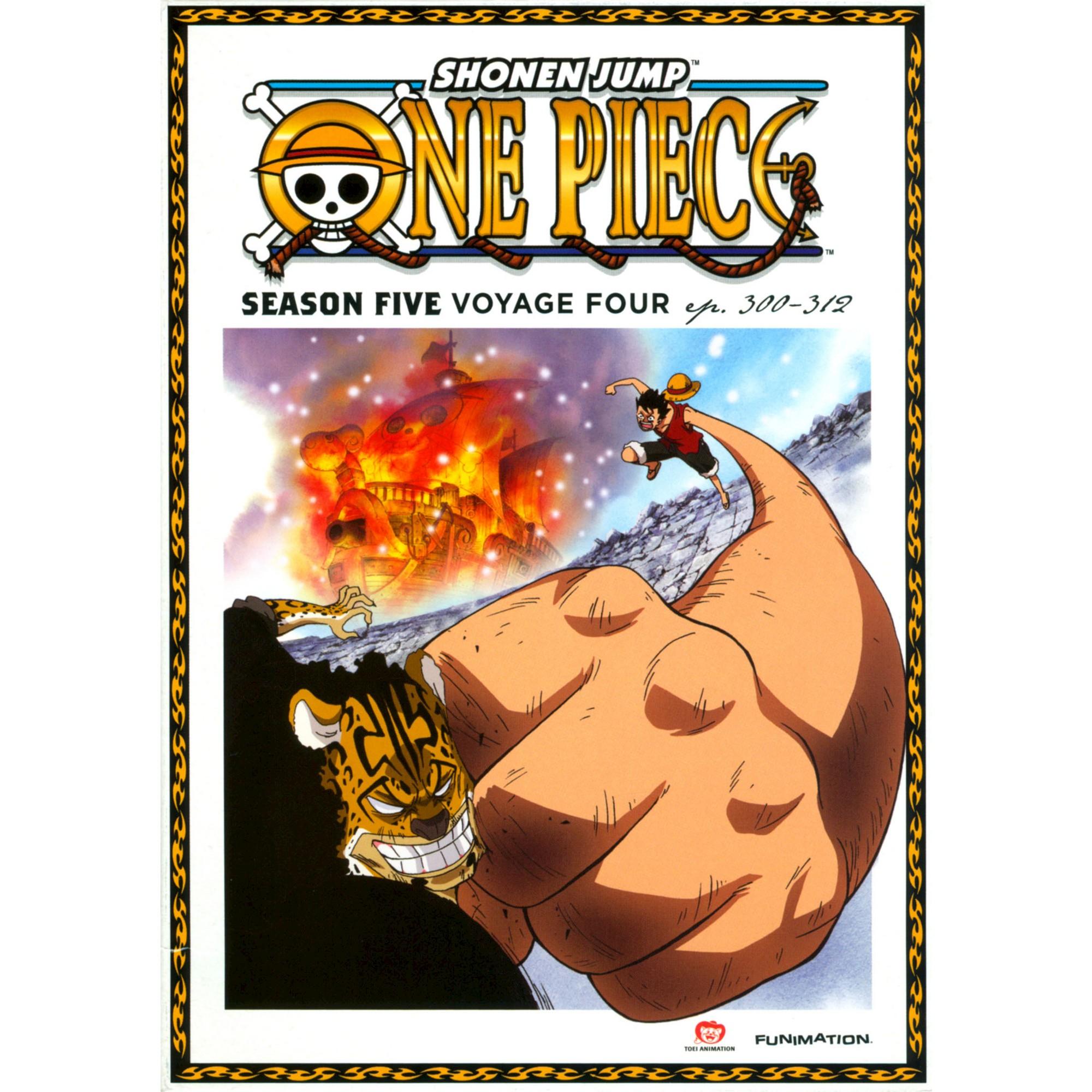 One Piece Season 5voyage Four (Dvd/2 Disc) (DVD) One
