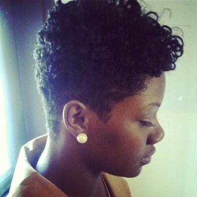 How To Style Short Natural Hair Sasha  3Bc Natural Hair Style Icon  Black Girls Style Icons And