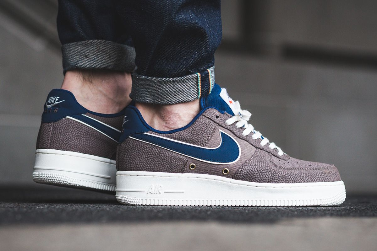 Dark Mushroom Colors This Premium Nike Air Force 1 Low