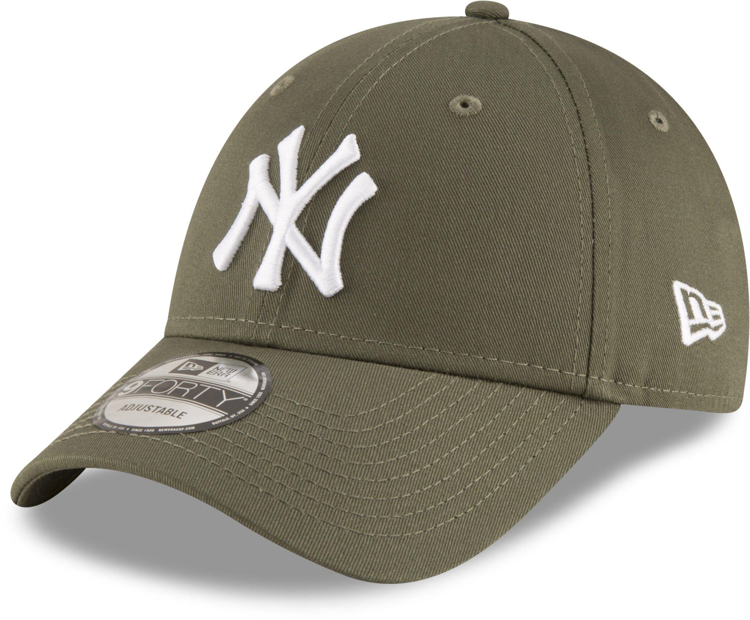 1325d52b8d6 NY Yankees New Era 940 League Essential Khaki Baseball Cap – lovemycap