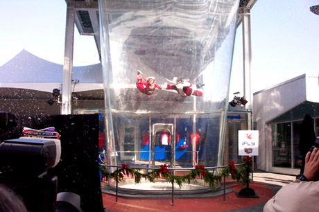 iFly wind tunnel sky diving - I flew in Tukwila - not sure ...