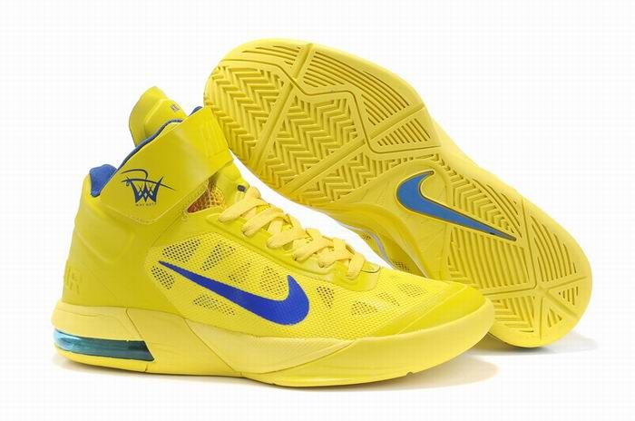 Nike Air Max Hyper Mens Yellow Blue Sports Shoes