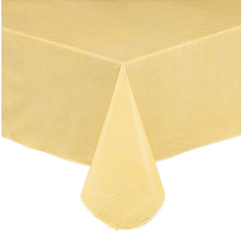 Yellow Vinyl Tablecloth Or Placemat In 2020 Vinyl Tablecloth Placemats Table Cloth