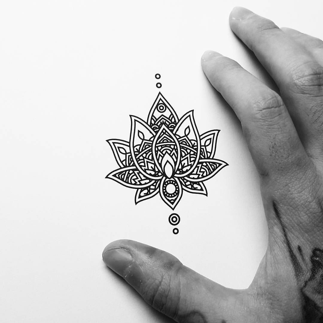 Mandala Wrist Tattoo Small: See This Instagram Photo By @cloudtrip_illustration
