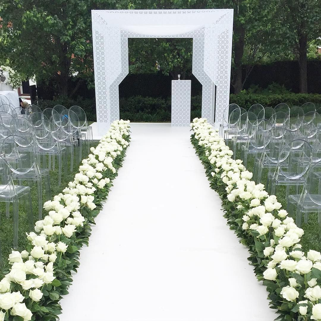 Gorgeous Ways To Incorporate Scandinavian Designs Into: A Beautifully Designed Chuppah Always Grabs The Attention