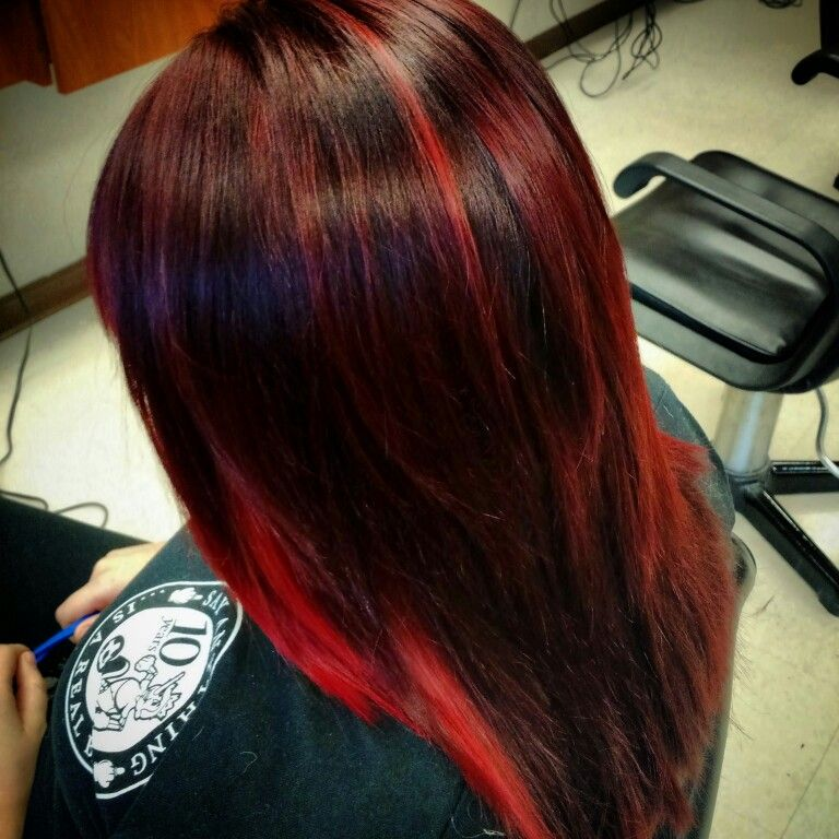 #colormelt #redhair #matrixcolor #hairbybridgettecarlberg