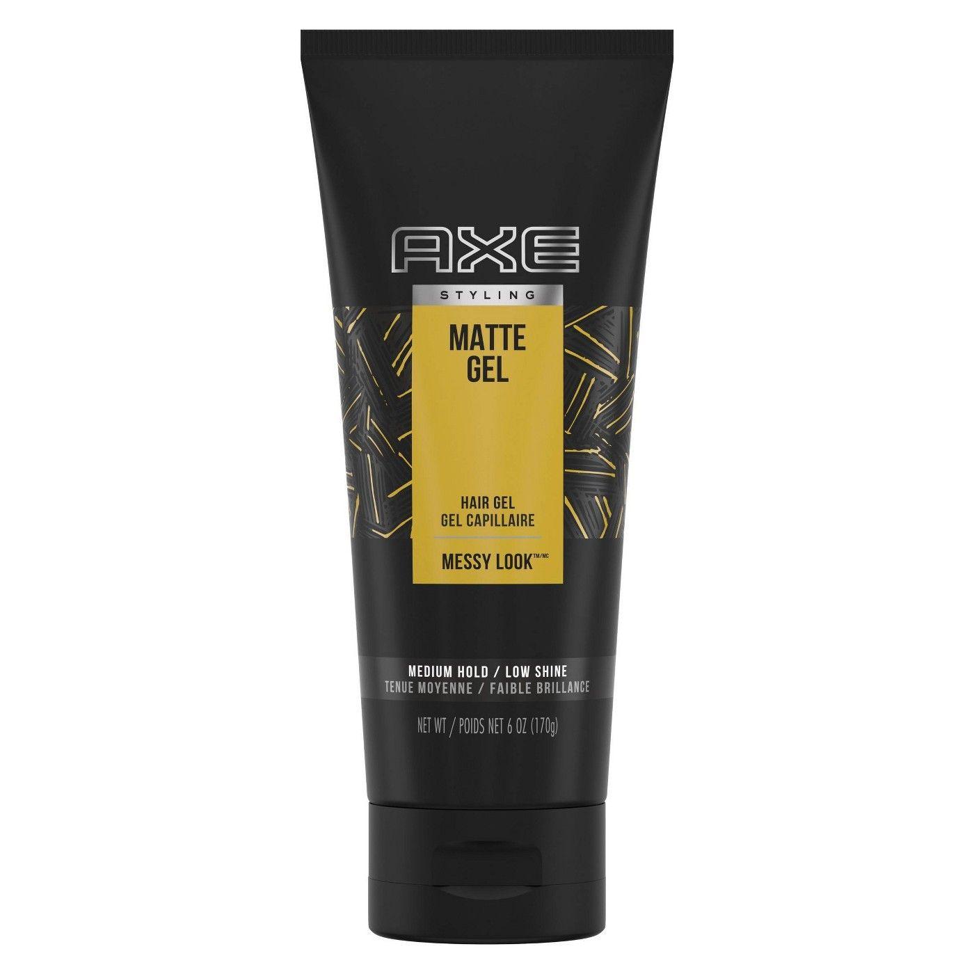 Axe Urban Messy Look Matte Hair Gel 6oz Hair Gel Matte Gel Hair Gel For Men