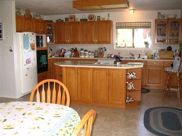 Open Lower Kitchen Cabinets