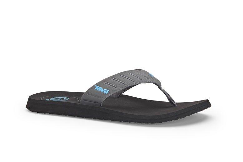 Zapatos negros Teva Mush para hombre ywqef