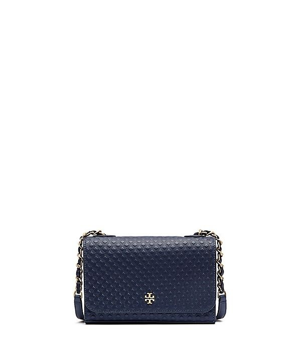 a12591183c84 Tory Burch Marion Embossed Shrunken Shoulder Bag