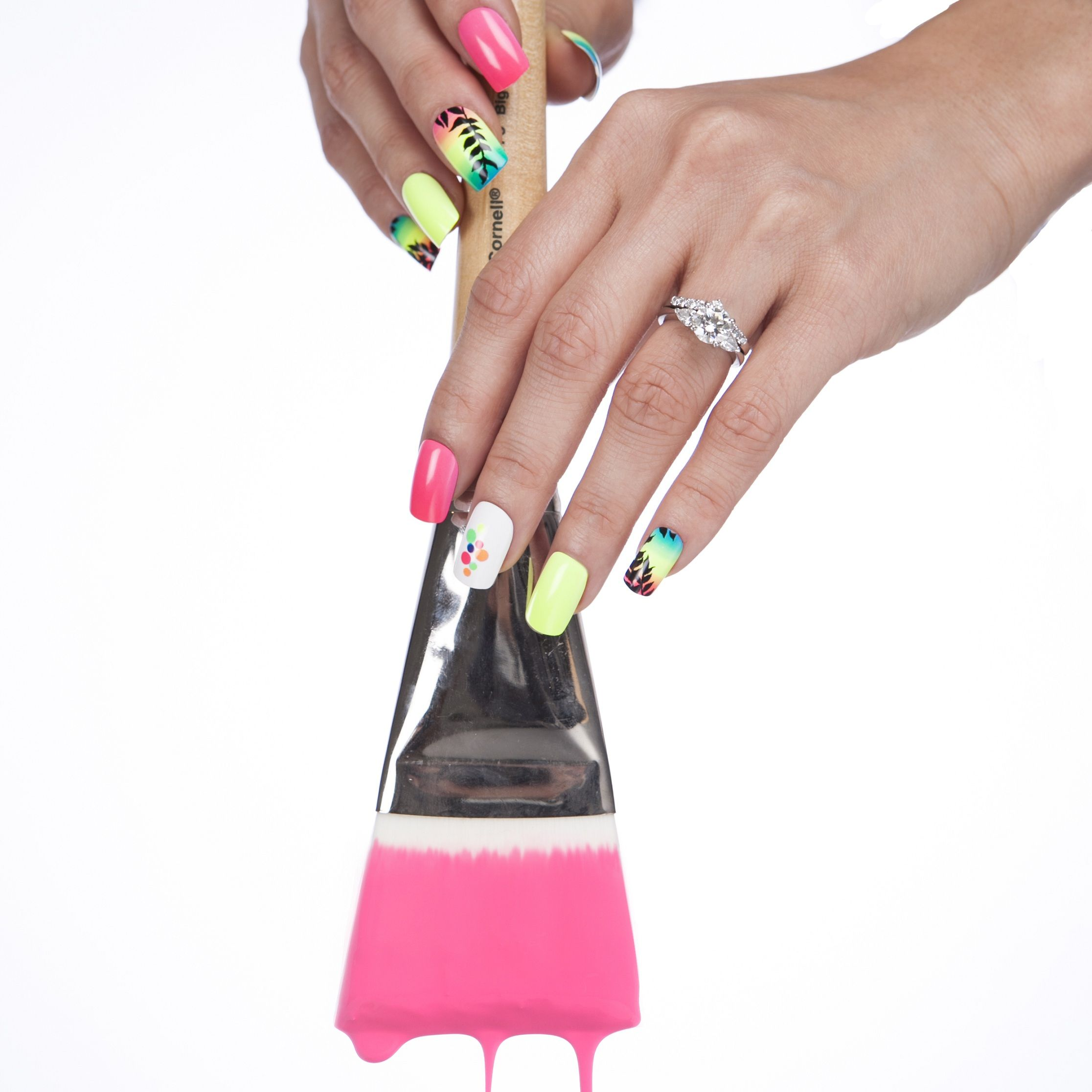 Nails by Ryoko designed this nail art for KISS—that could be you ...