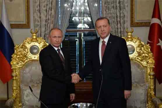 Russia Turkey sign pipeline accord after crisis - DunyaNews Pakistan