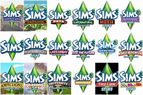 sims 3 all expansion packs free download mac