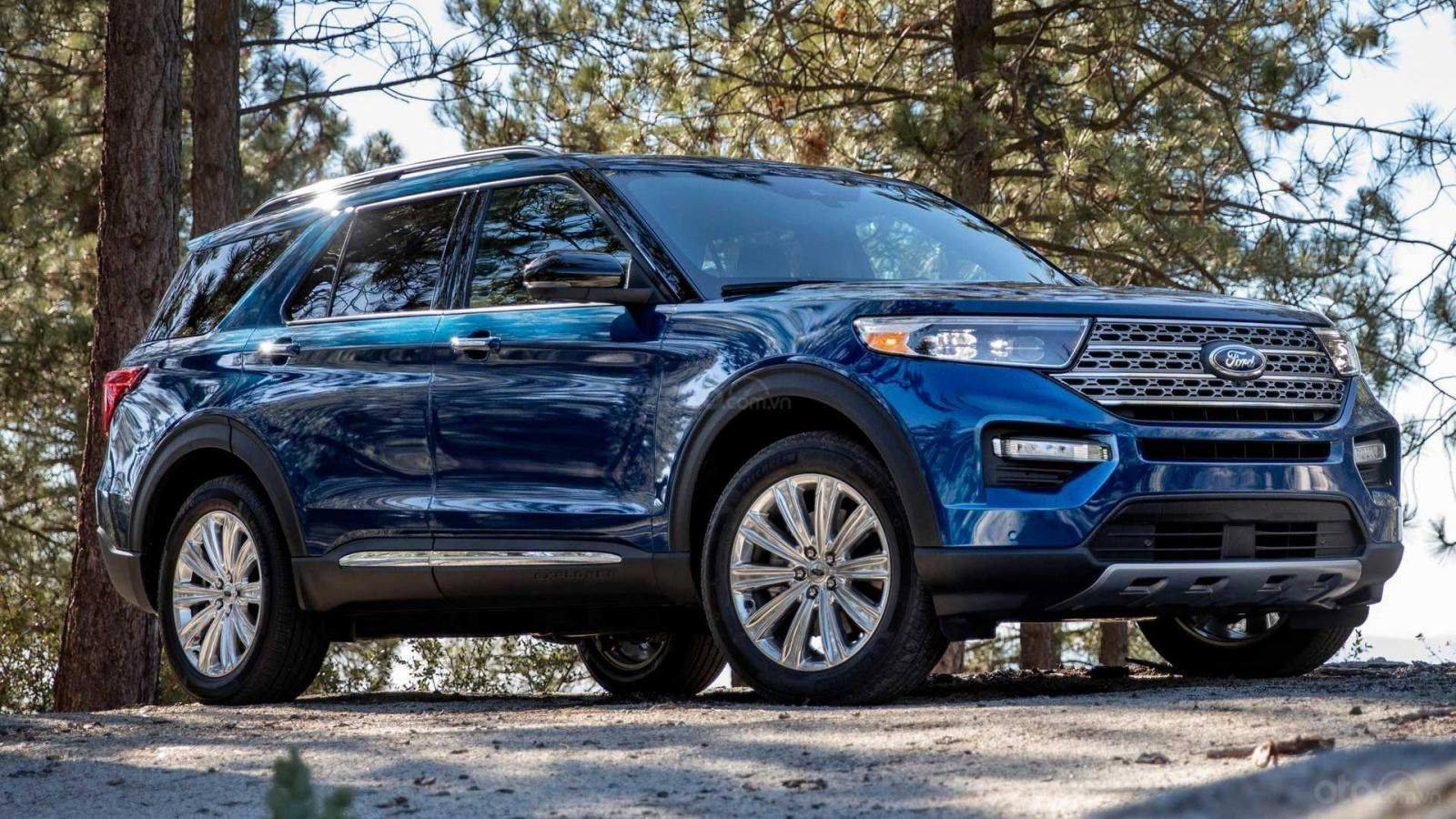 Xe Ford Explorer 2020 Photos In 2020 Ford Explorer Ford Suv 2020 Ford Explorer
