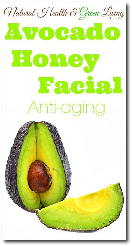 Avocado Honey Facial -Natural Health & green Living