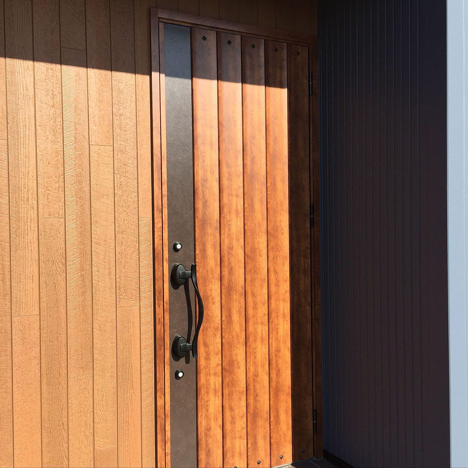 玄関 入り口 アイリッシュパイン ジエスタd11 ジエスタ2 玄関ドア などのインテリア実例 2017 09 23 13 19 49 Roomclip ルームクリップ 玄関ドア 玄関 玄関ドア リクシル