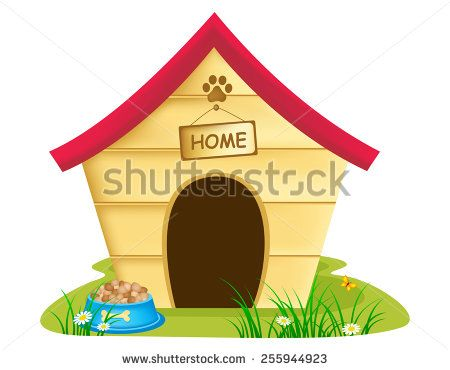 Dog House Clip Art Free Vector 4vector Clip Art Art Dogs