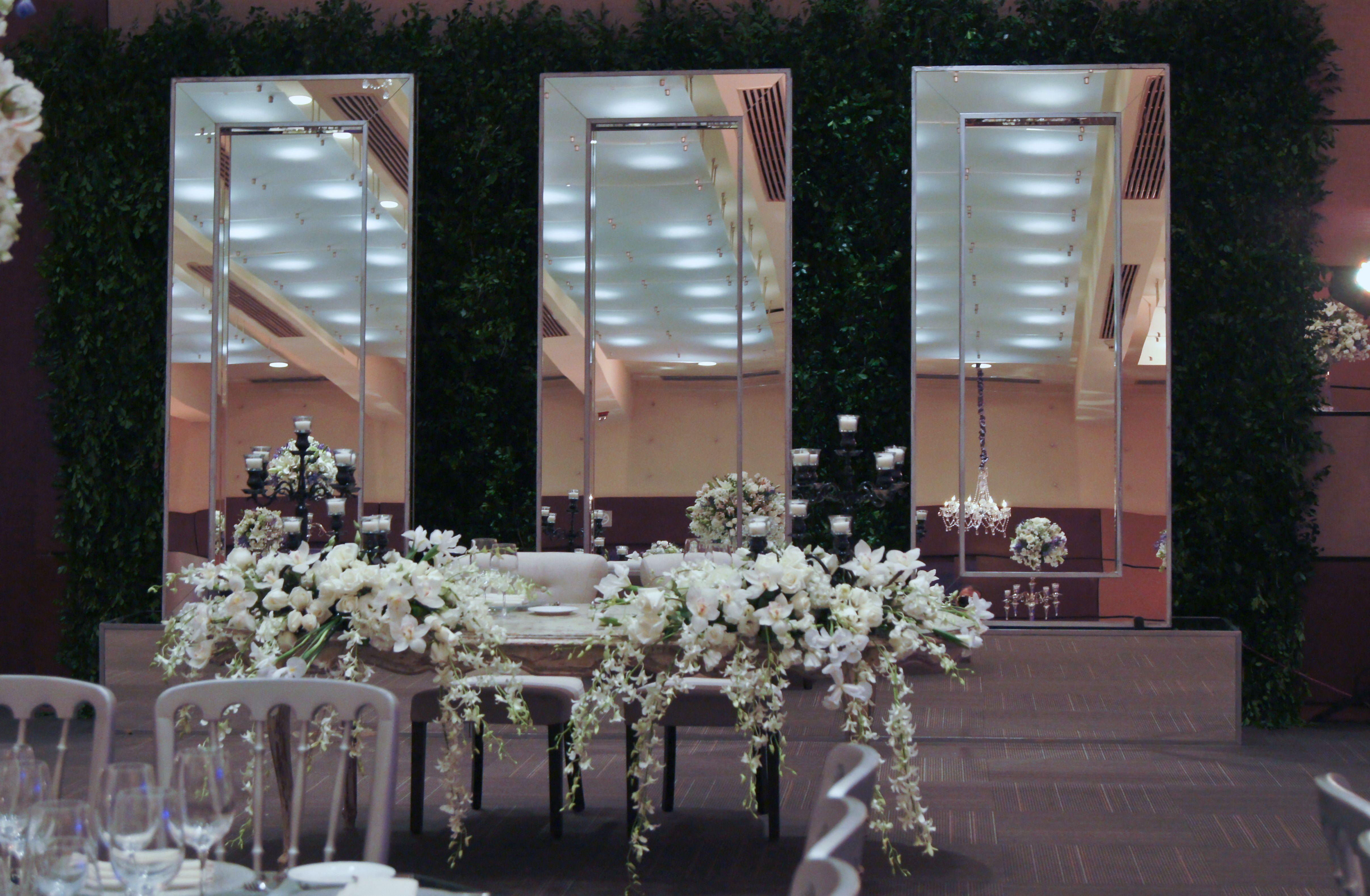 Ambientaci n mesa de novios boda elegante pinterest for Ambientacion para bodas