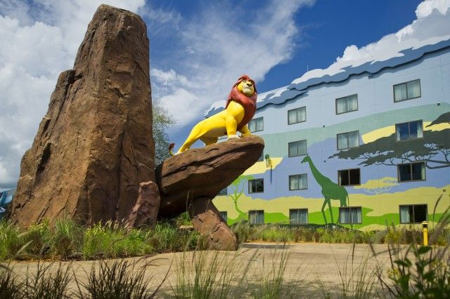 Disney Art Of Animation Hotel Orlando Florida