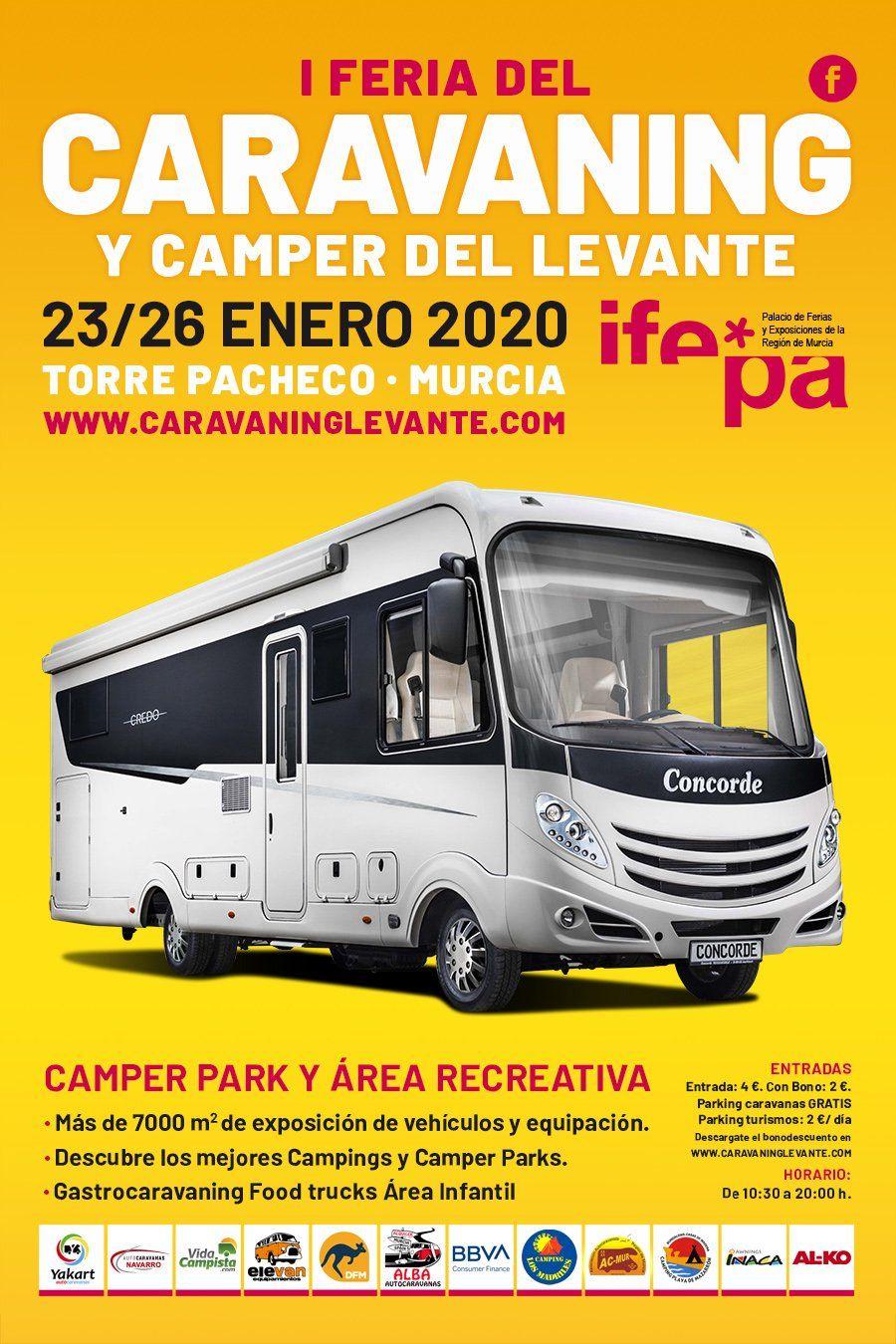 Inicio Caravaning Levante Torre Pacheco Camper Parking