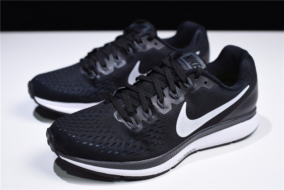 NIKE Men/'s Air Zoom Pegasus 34 Running Shoe Black # 880555-001