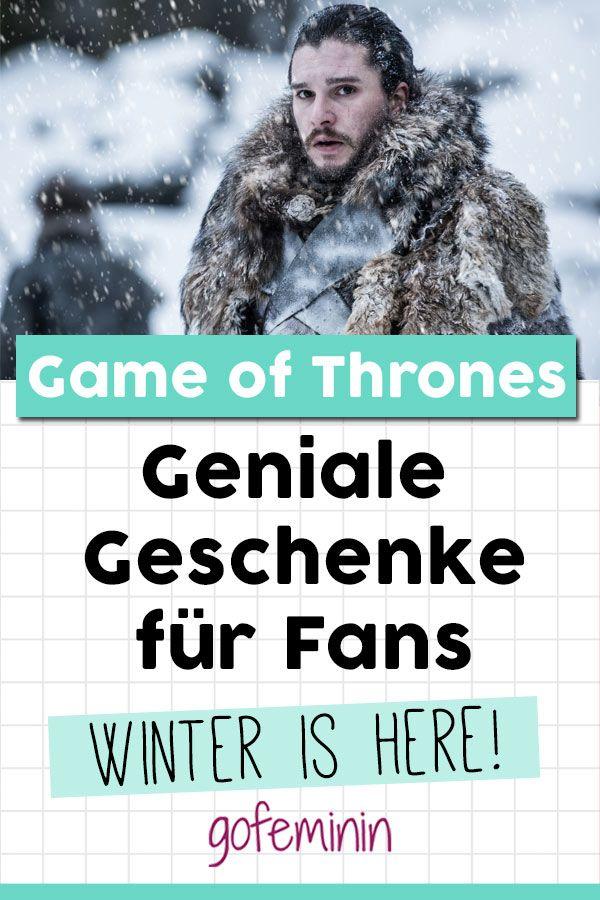 Winter is here: Die besten Geschenke für Game of Thrones-Fans