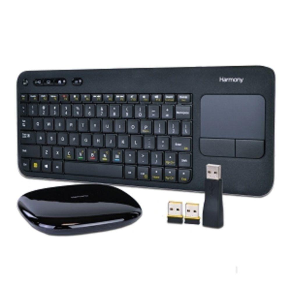 Logitech Harmony 79-Key Smart Keyboard w/Touchpad Wireless