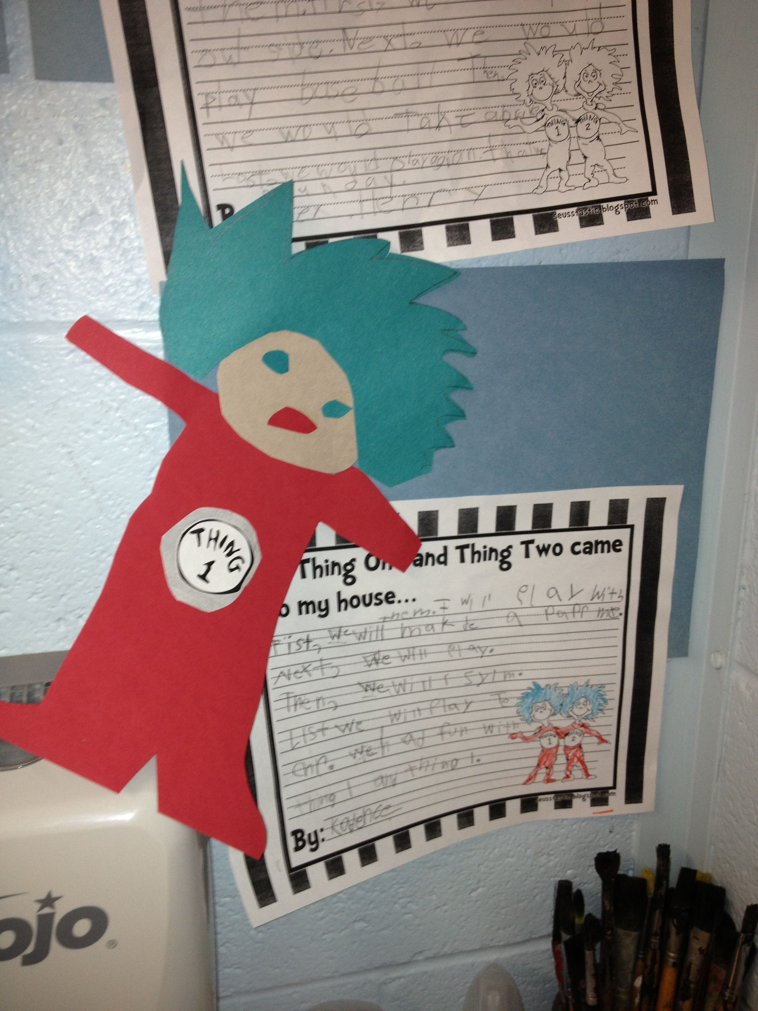 If thing 1 or thing 2 came to your house....