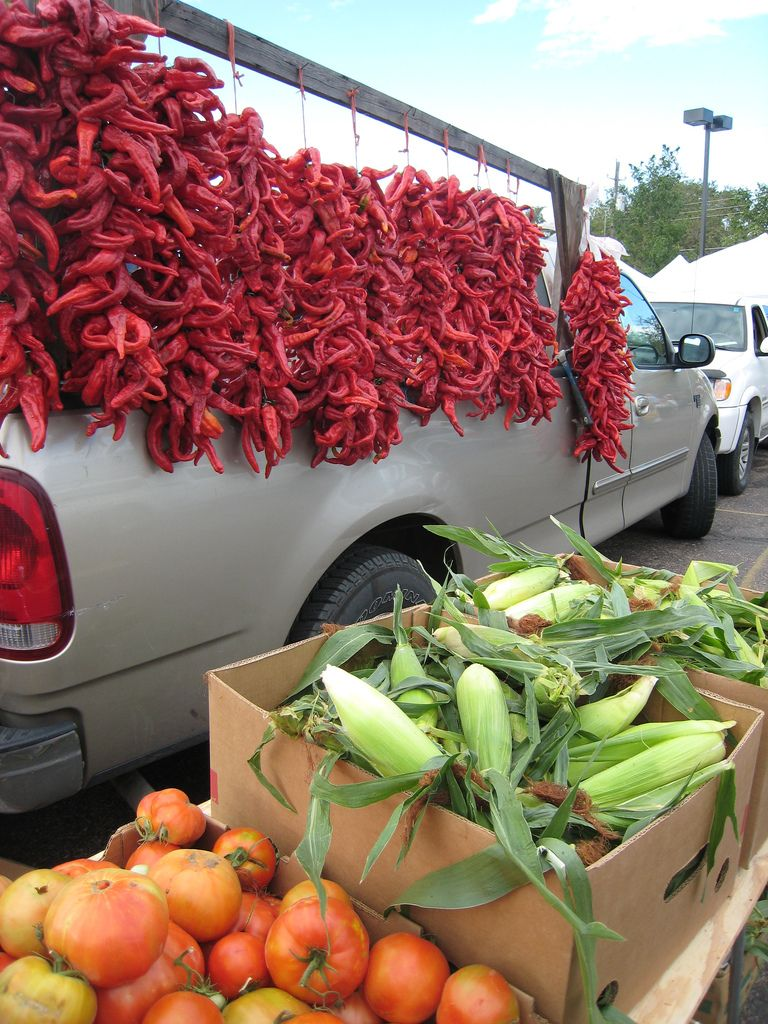 Chile Ristras Farms Food Markets Around The World New Mexico