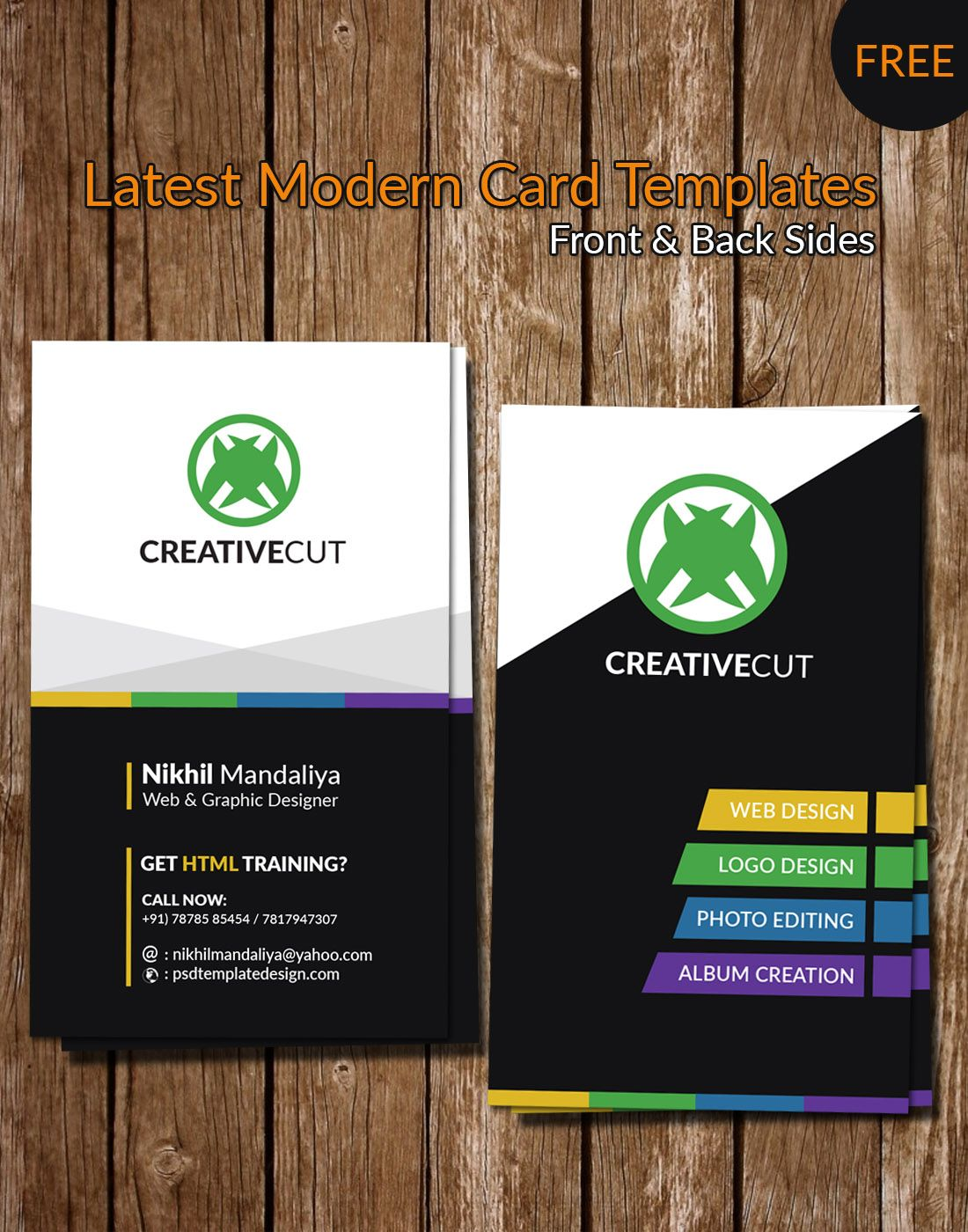 Modern card more at designresources free business card creative business card templatesfree card for all user latest design template for card and psd templates website templates accmission Image collections