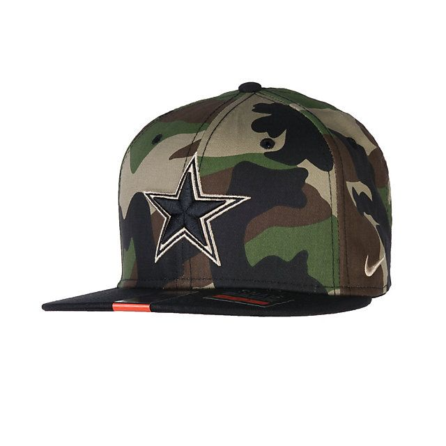 c0b426a552 Dallas Cowboys Nike Camo Snap 2 Cap