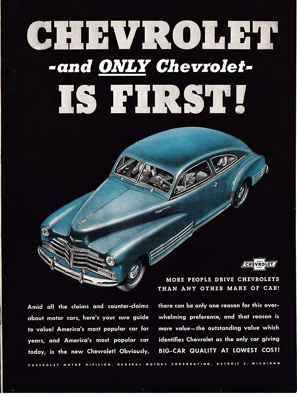 Chevrolet Ads Camaro Chevelle Corvair Corvette CD-ROM
