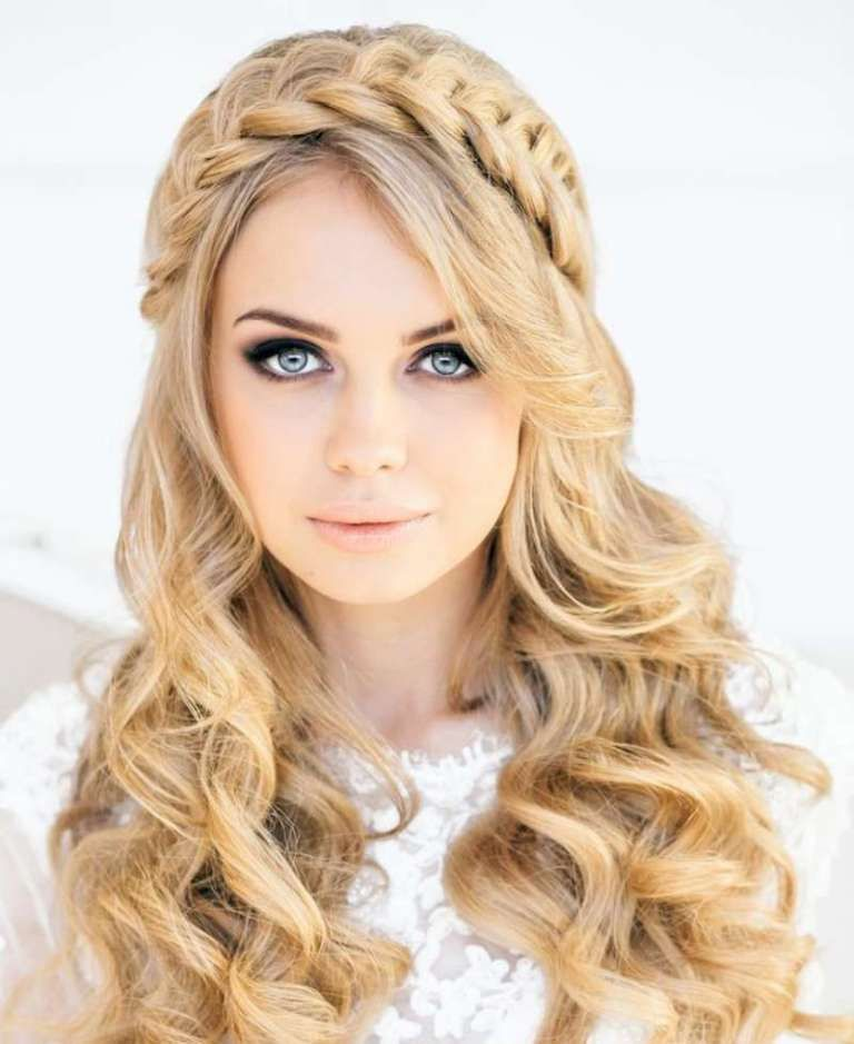 Top 10 Latest Hairstyle Trends For Women In The World Topteny Com Braided Crown Hairstyles Long Hair Styles Hair Styles