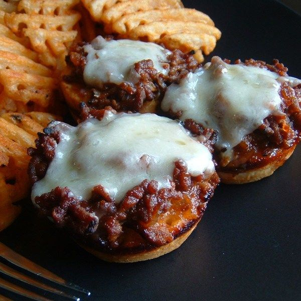 """Barbecue Beef Cups I """"This recipe was terrific, easy, and fast!!! My boyfriend loved them, and we decided that we're definitely making these for our next party. What a treat!"""""""