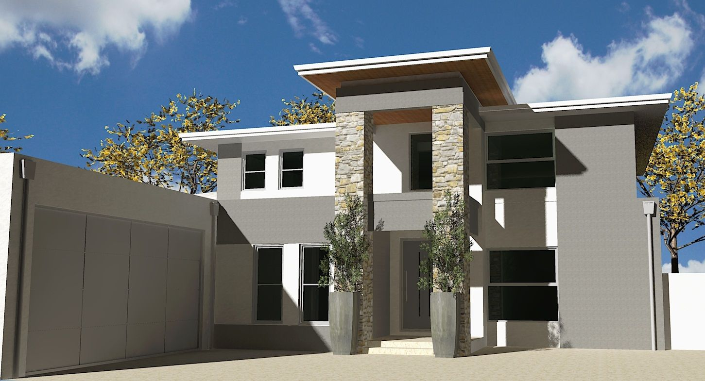 como 3057 front elevation rendering 2 storey house for a como 3057 front elevation rendering 2 storey house for a custom designed home on