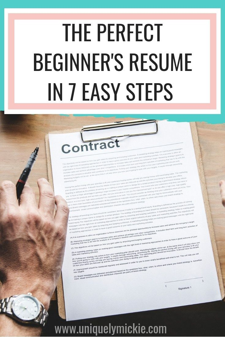 7 ways to build your resume with no experience build
