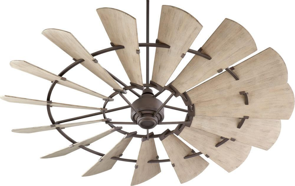 72 Inch Windmill Oiled Bronze Patio Ceiling Fan Windmill Ceiling