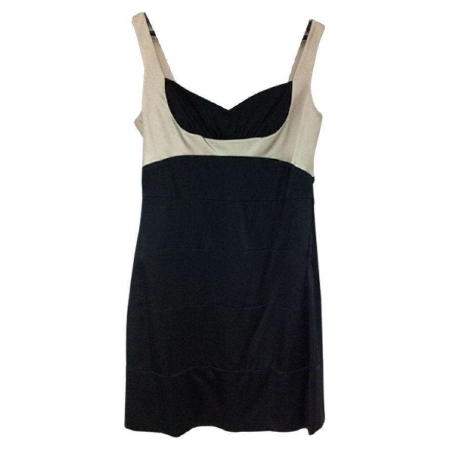 BCBG MAX AZRIA SILK COCKTAIL DRESS