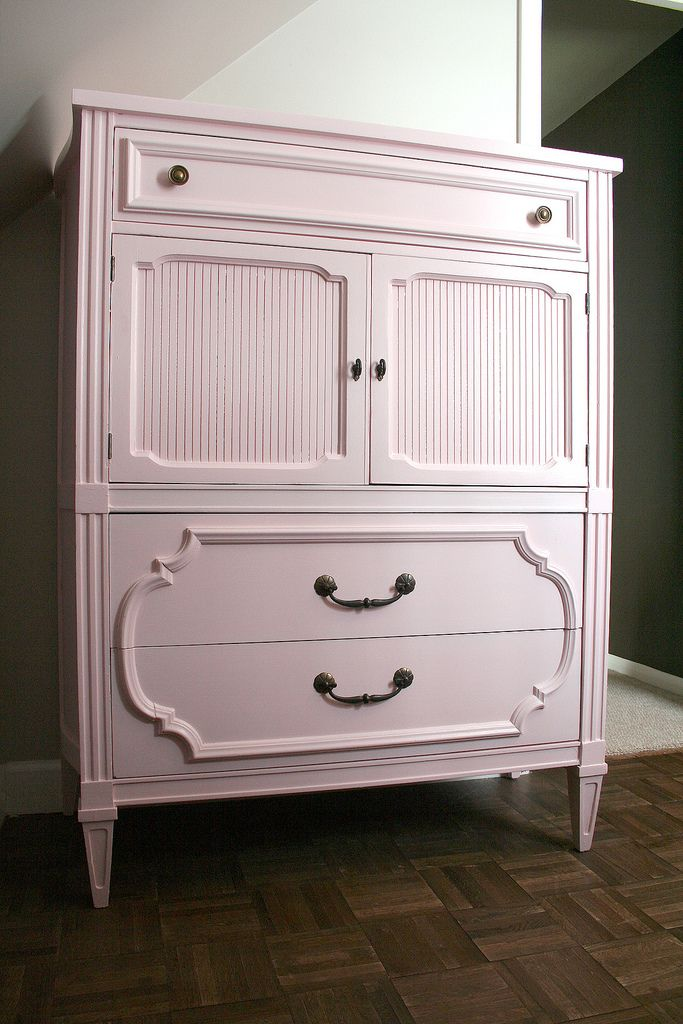 Chic Little House The Painted Dresser Nursery Pinterest
