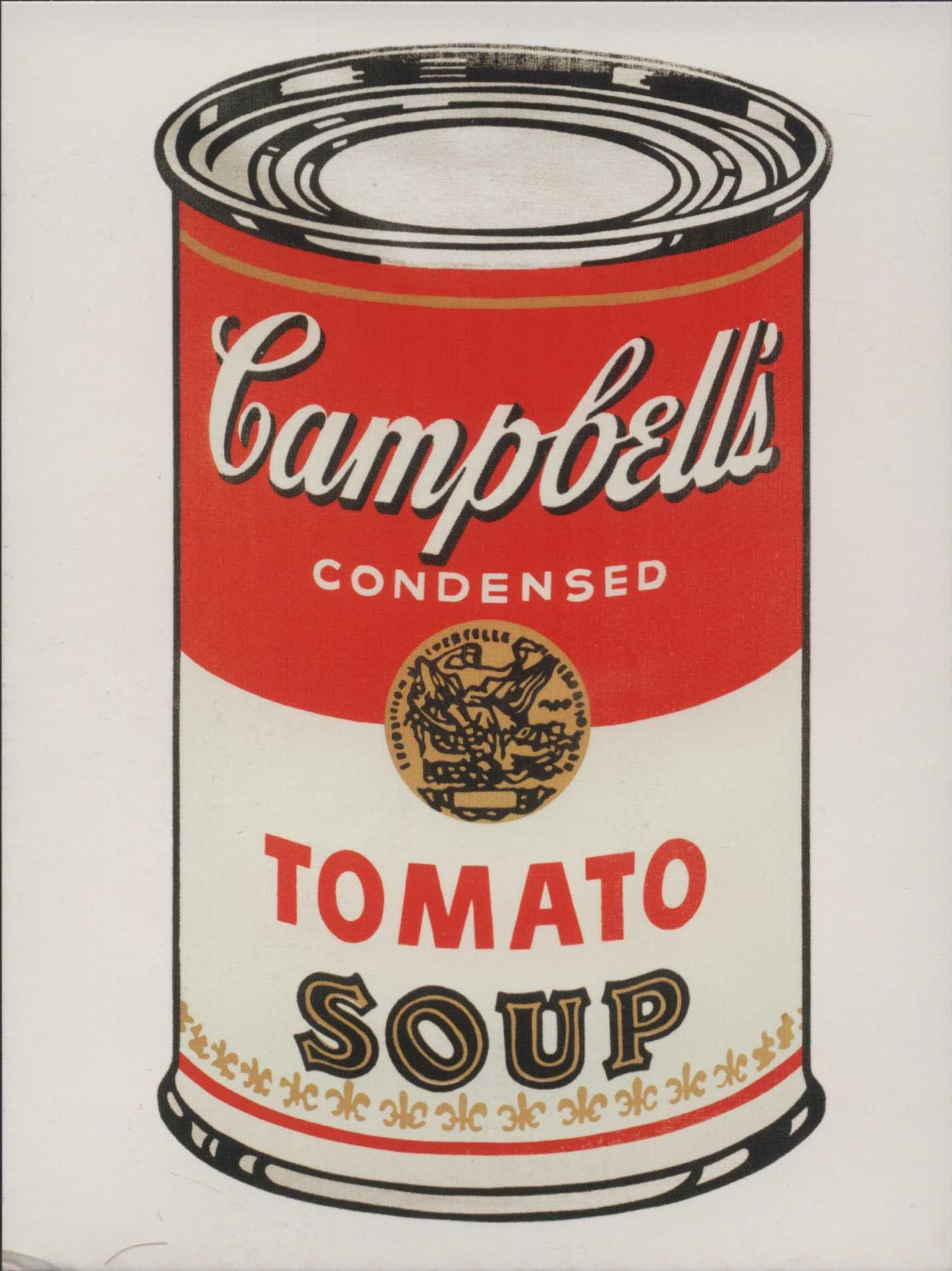 Andy Warhol Tomato Soup Red And White Can Pop Art Modern Postcard R001882 By Markopostcards On Etsy Pop Art Painting Pop Art Famous Pop Art