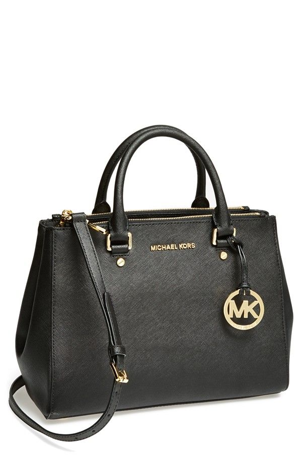 9f52aee2af2d MICHAEL Michael Kors Sutton Safiano Leather Tote A clean