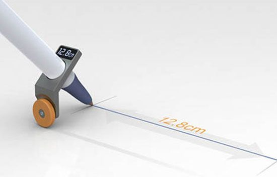 Digital measuring drawing device. 25 Amazing Gadgets To Make Your Life More Interesting